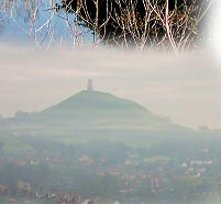 The Mists of Avalon, as seen from Wearyall Hill